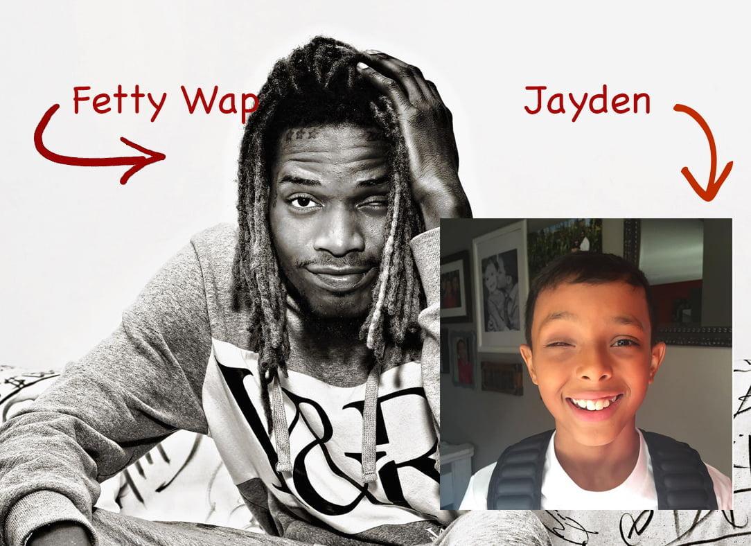 Fetty Wap Influences Young Fan with Retinoblastoma