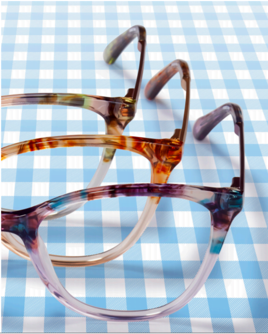 draper james abstract floral frames