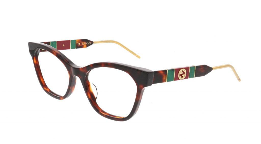 GUCCI GG0600O glasses Havana