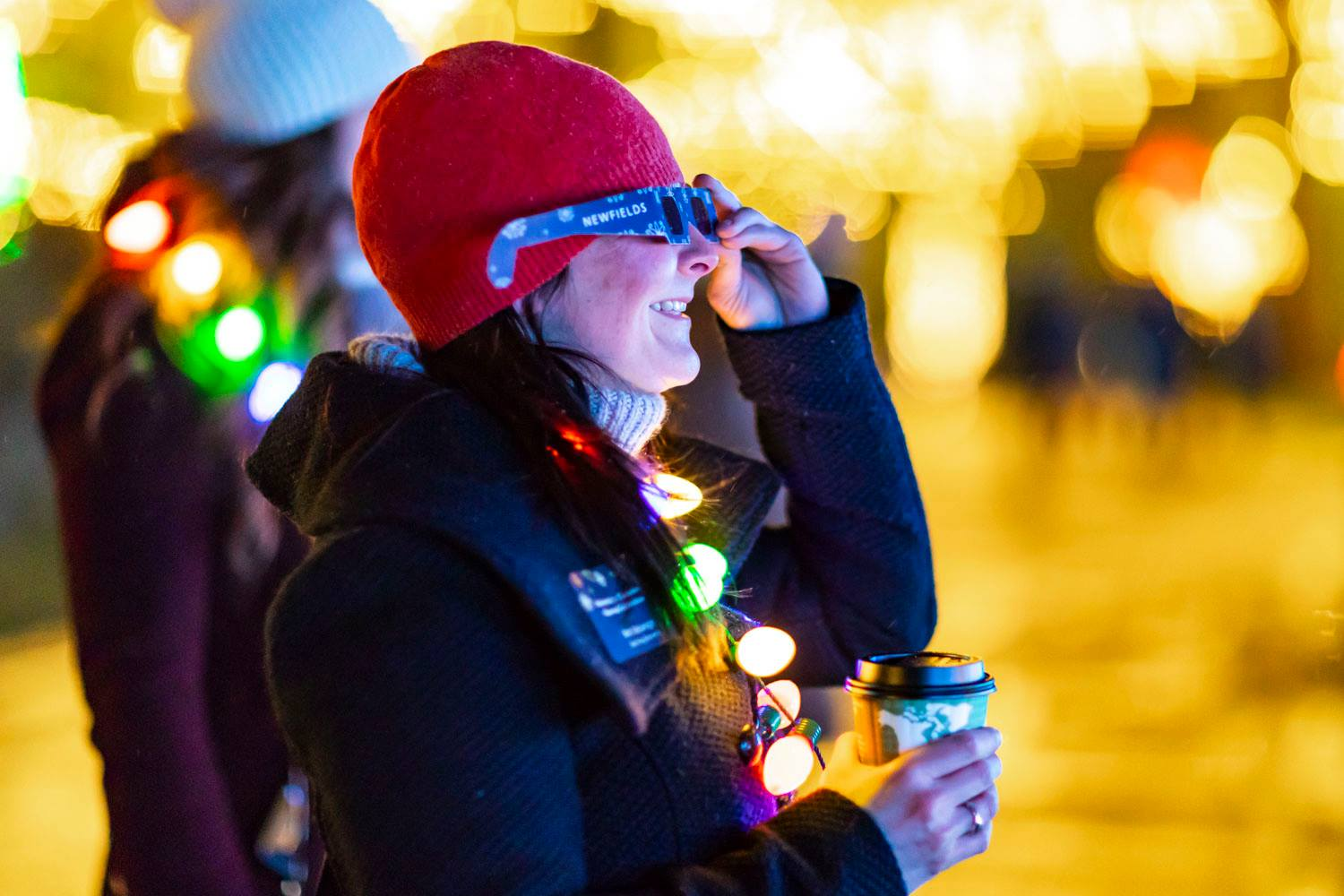 Experience the Winterlights magic at Newfields with Dr. Tavel