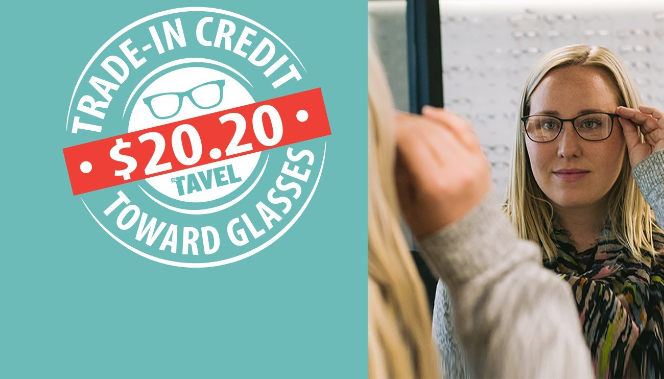 New Year, New Look   Save $20.20 Towards 20/20 Vision