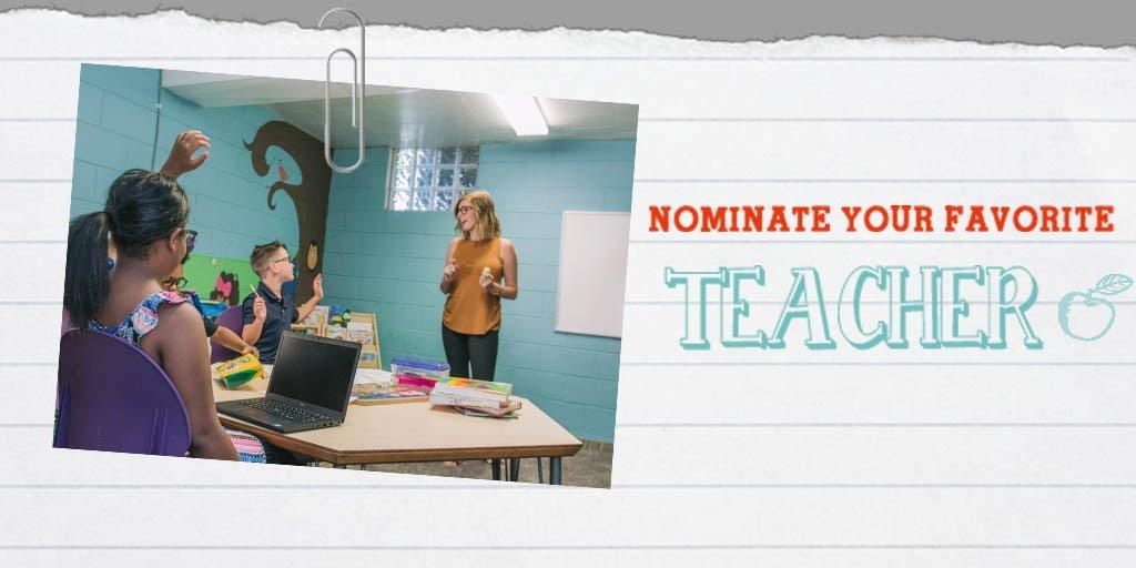 Nominate A Teacher | Win Glasses