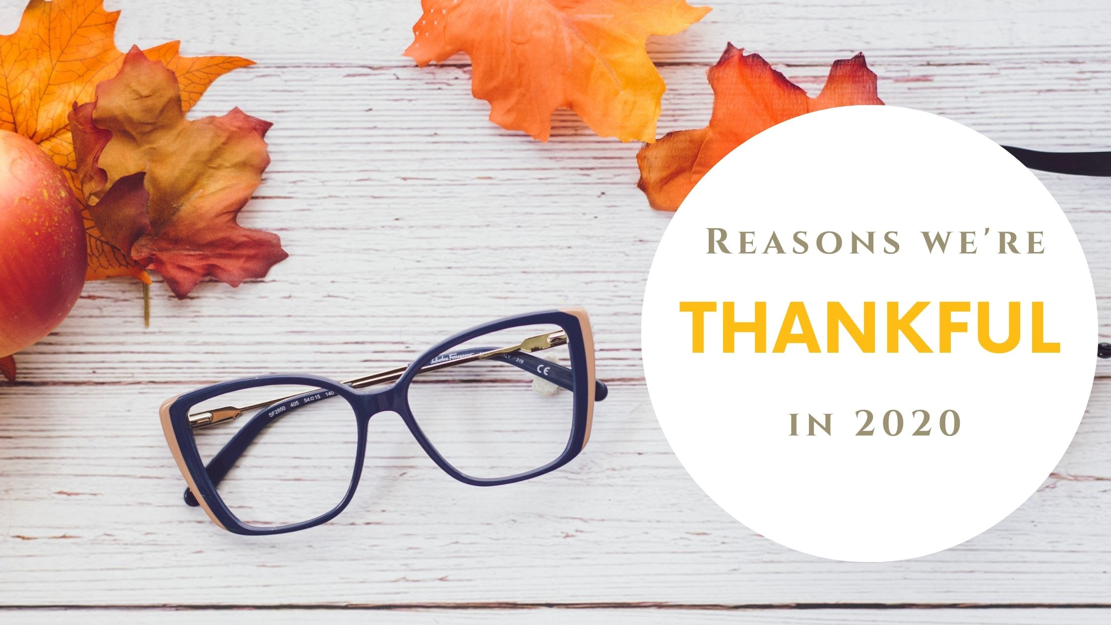 Reasons We're Thankful in 2020