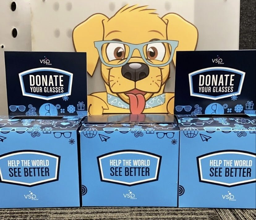 eyes of hope glasses donation boxes